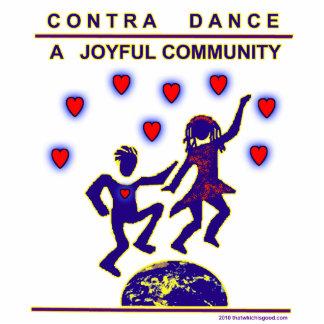 Contra alegría de la danza adorno fotoescultura