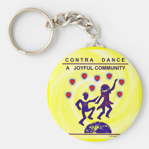 Contra alegría de la danza llavero personalizado