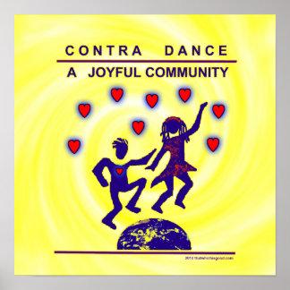 Contra alegría de la danza poster