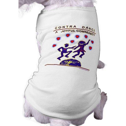 Contra alegría de la danza ropa de perro