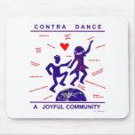 Contra alegría de la danza tapete de ratón