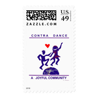 Contra alegría de la danza timbres postales