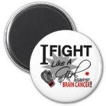 Contra cáncer de cerebro imán para frigorifico