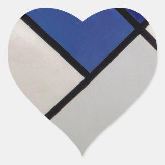 Contra-Composition of Dissonances, XVI Theo Heart Sticker