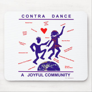 Contra Dance Gifts Mouse Pad