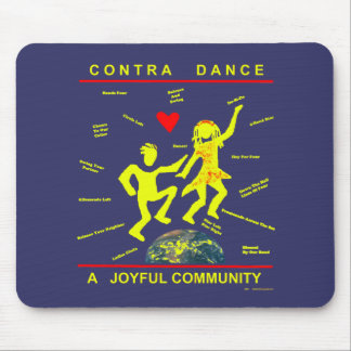 Contra Dance Gifts Mouse Pads