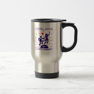 Contra Dance Gifts Travel Mug