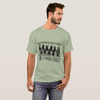 Contra Dance (improved image) - Men's Basic T-Shirt