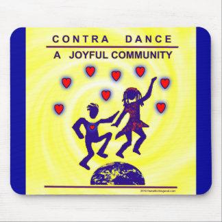 Contra Dance Joy Mousepad