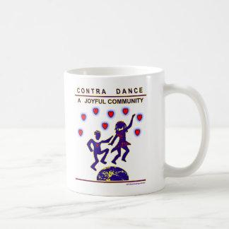 Contra Dance Joy Classic White Coffee Mug