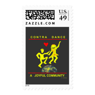 Contra Dance Joy Stamps
