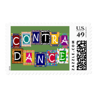 Contra Dance Postage