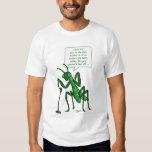 Contra Dance Praying Mantis Caller Tee Shirt