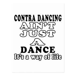Contra Dancing ain't just a dance Postcard