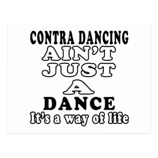 Contra Dancing ain't just a dance Postcard