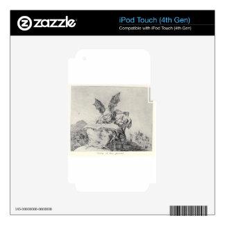 Contra el bien común de Francisco Goya Skins Para iPod Touch 4G