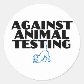 Contra ensayos con animales etiqueta
