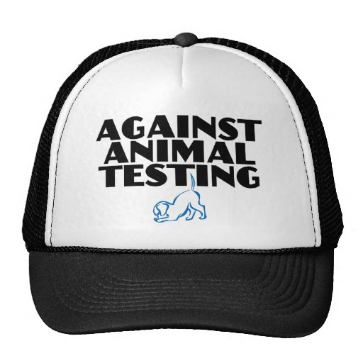 Contra ensayos con animales gorras