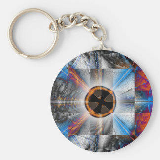 Contra Equanimity Basic Round Button Keychain
