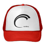 Contra hat - small text
