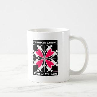 Contra Is Casual Coffee Mug