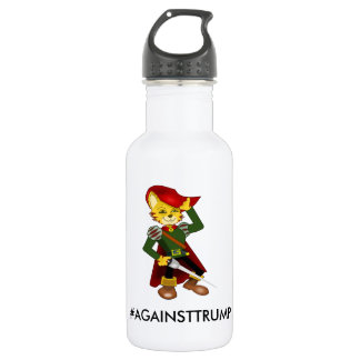 Contra la botella de agua del triunfo