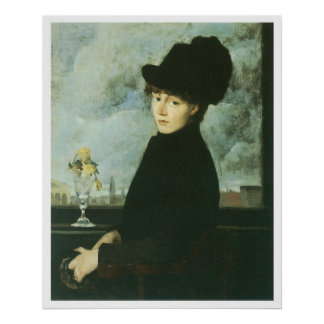 Contra la ventana, 1884, J. Alden Weir Impresiones
