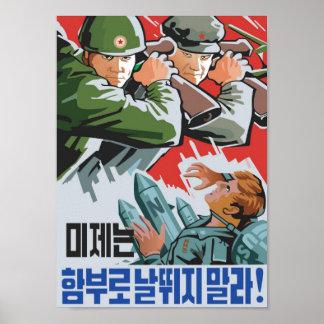 Contra los imperialistas de los E.E.U.U. Poster