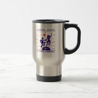 Contra los regalos de la danza tazas de café