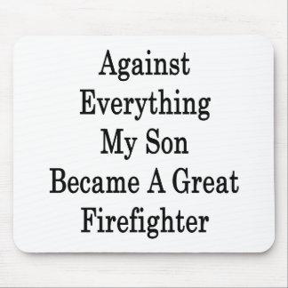 Contra todo mi hijo hizo un gran Firefight Tapete De Raton