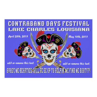 contraband days edit date poster