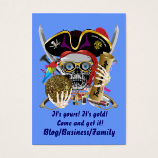 Contraband-Days Pirate Important View About Design Business Card