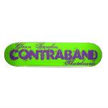 Contraband Skateboards-Glenn Karabin Splatter Deck