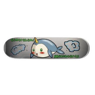 Contraband Skateboards- Narwhal in the Sky Skateboard