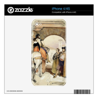 Contrabandistas, from 'Sketches of Spain', engrave iPhone 4 Skins