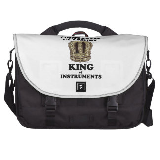Contrabass Clarinet King of Instruments Laptop Bags