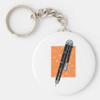 Contrabassoon Keychain