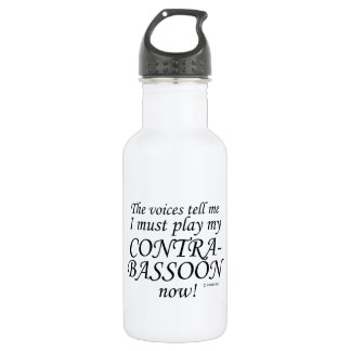 Contrabassoon Voices Say Must Play Water Bottle