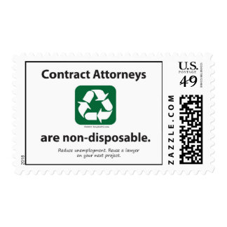 Contract Attorneys are non-disposable STAMPS