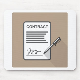 Contract Icon Mouse Pad