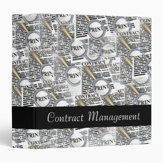 Contract Management Avery Binder