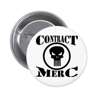 Contract Mercenary Merc Buttons