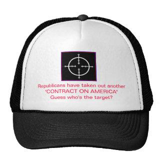 Contract on America Trucker Hat
