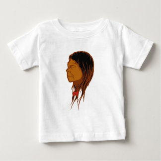 Contraction head shrunken head infant t-shirt