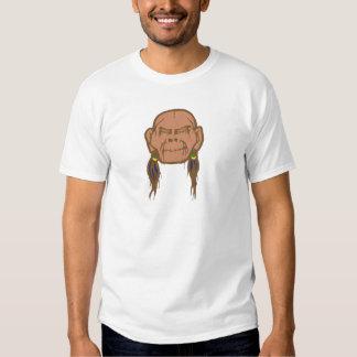 Contraction head shrunken head t-shirt