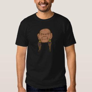 Contraction head shrunken head t shirt