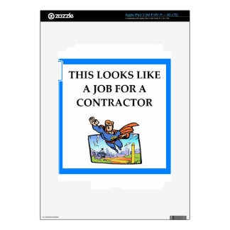 CONTRACTOR iPad 3 SKIN