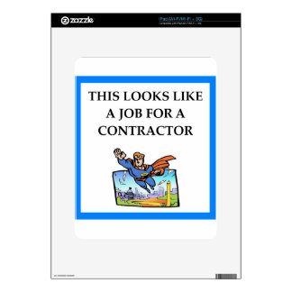 CONTRACTOR SKIN FOR iPad