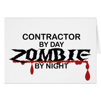 Contractor Zombie Card