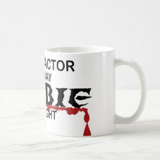 Contractor Zombie Coffee Mug